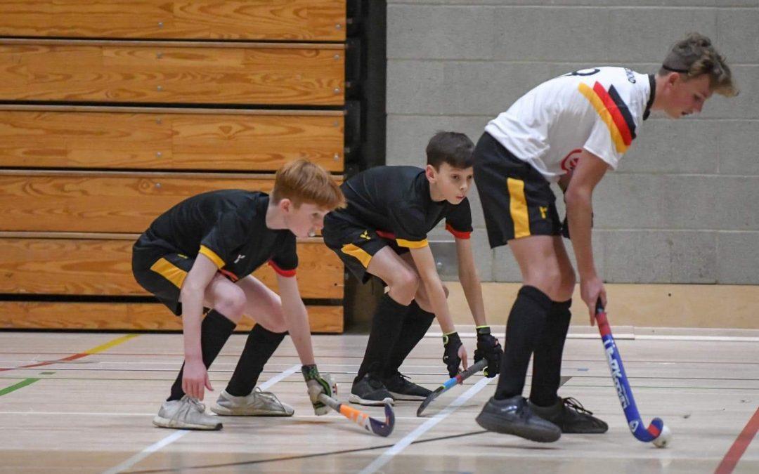#indoorhockeyUK Training at UEA