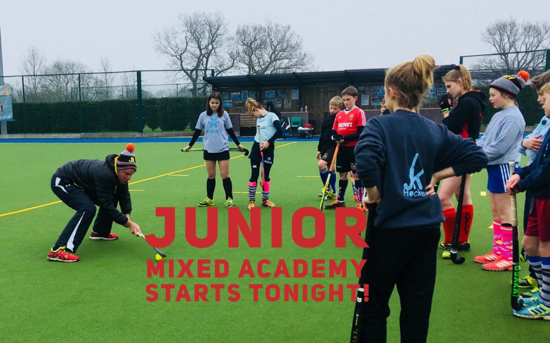 Junior Mixed Academy Starts Tonight!