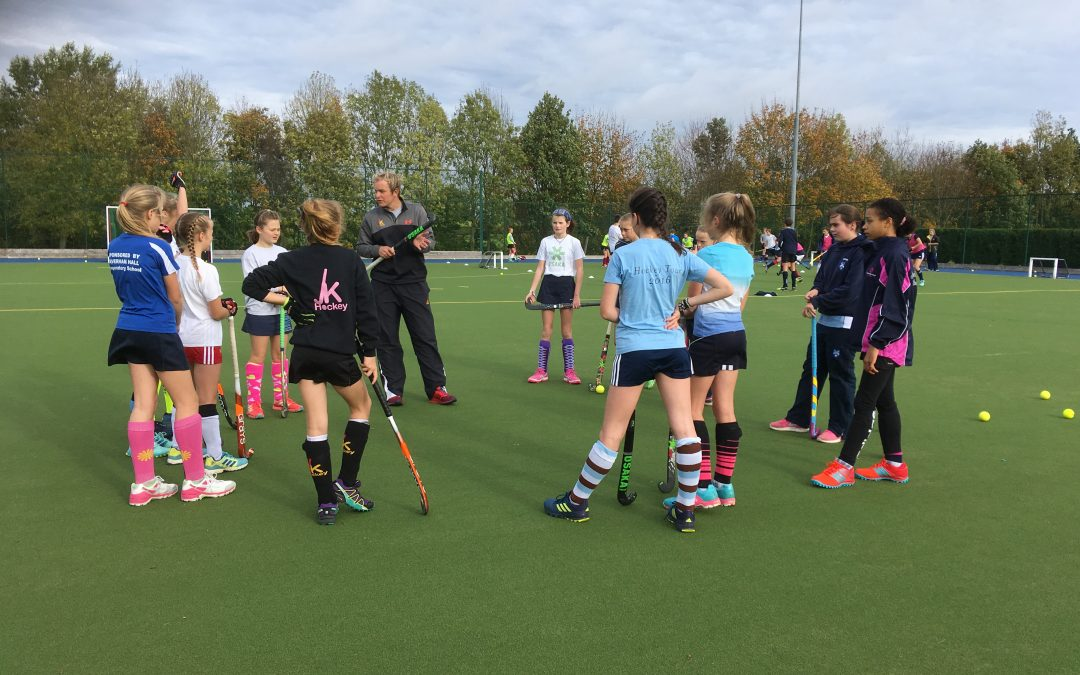 Senior Girls learn from an Olympian