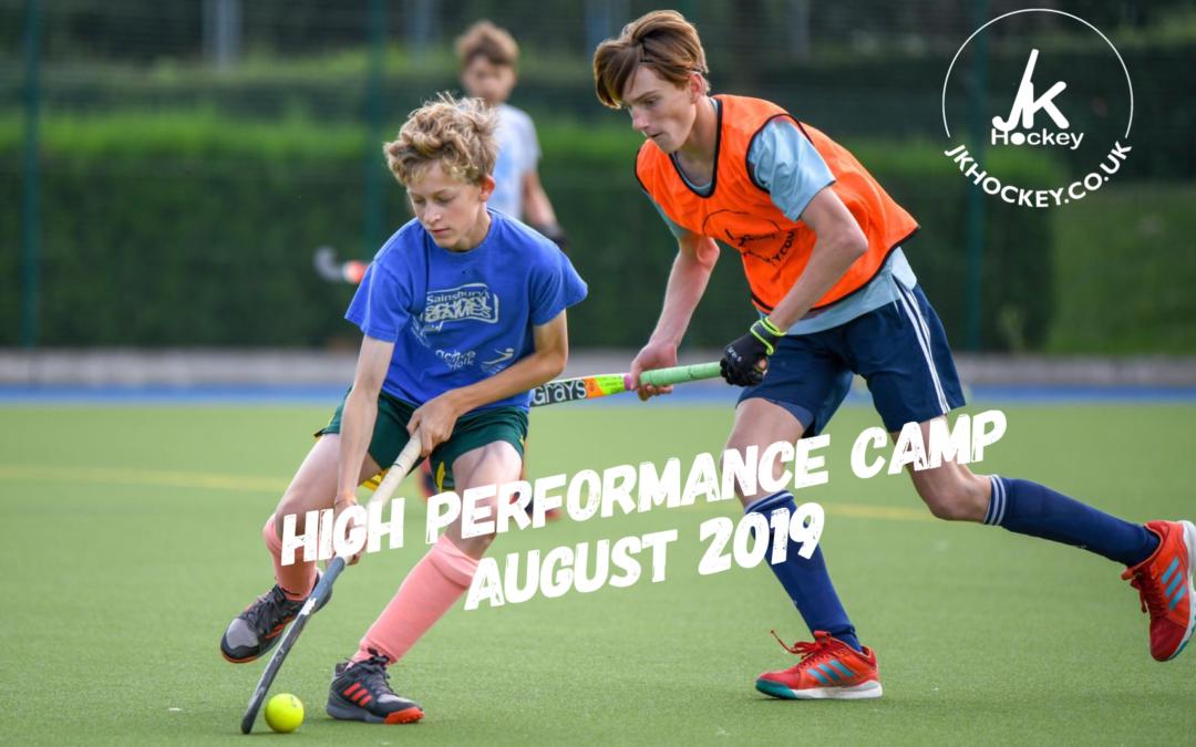 High Performance Camp Underway